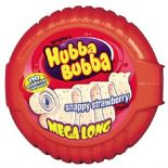 Wrigleys Hubba Bubba Triple Tape Snappy Strawberry 56g